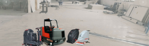 scrubber dryer machine rental Lancashire